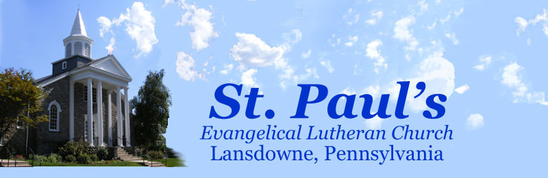 St. Paul's Lutheran Church, Lansdowne, PA